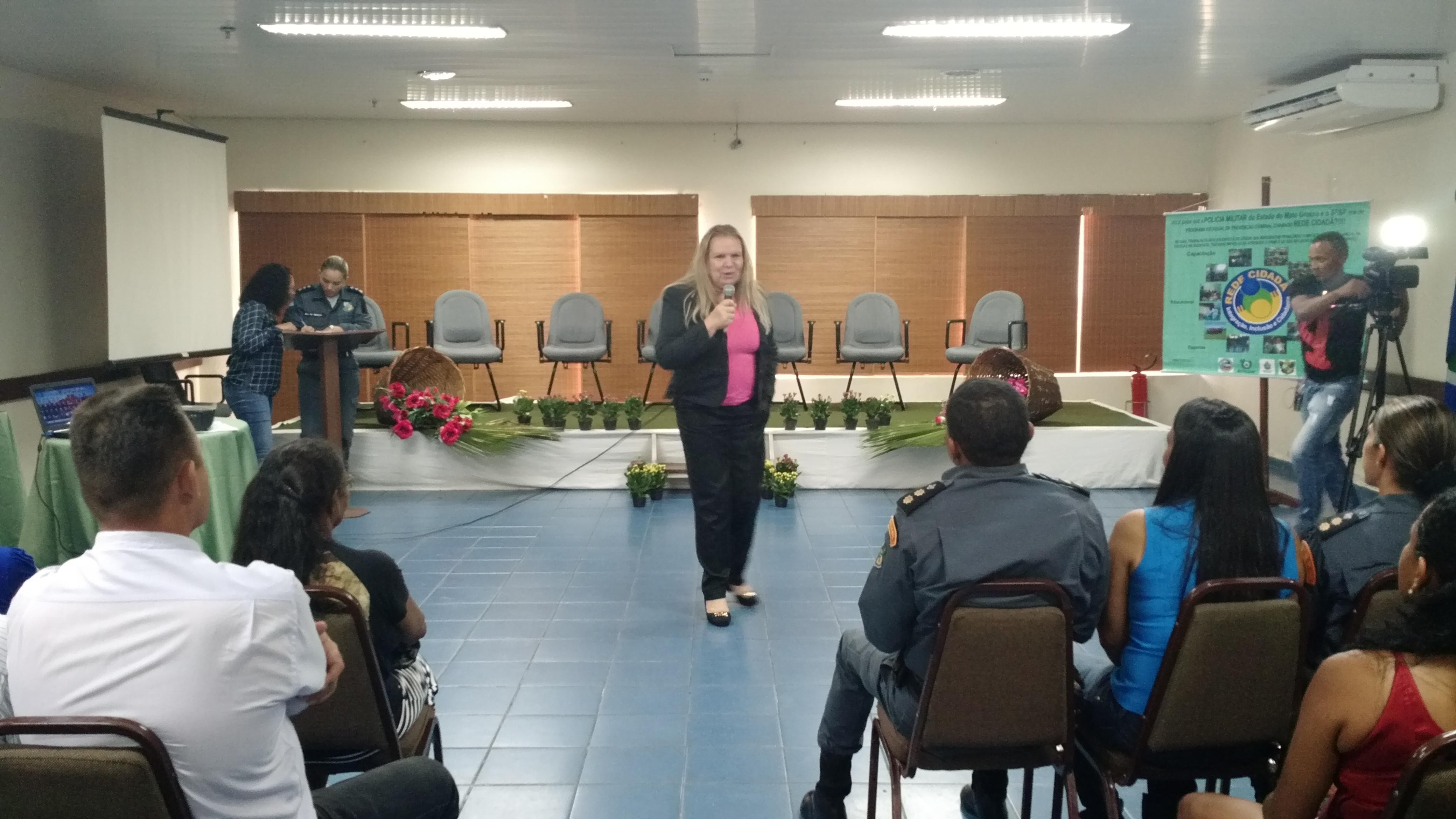 Desembargadora fala da luta das mulheres por igualdade (Foto: Dani Cunha)